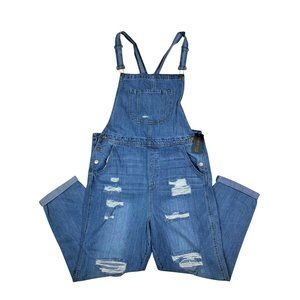 NWT SILVER ICING Casual Denim Overalls